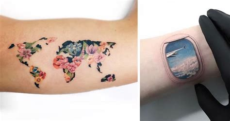 30 travel tattoo ideas that will make you want to pack