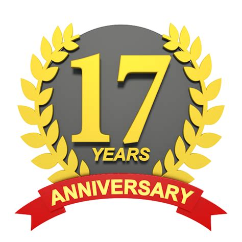 17 in years 17 years anniversary 3d character illustrations free image