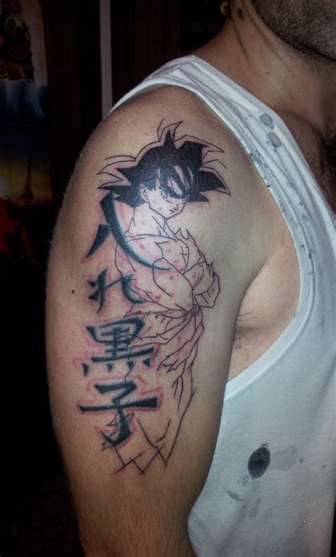 goku tattoos goku al 40 by curi222 on deviantart