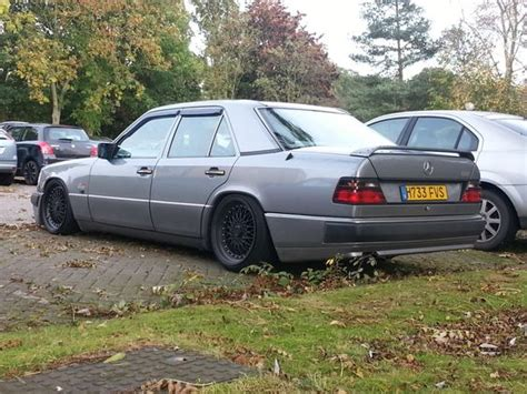 lowered mercedes lowered mercedes w124 mercedes w124 e300 lowered photo