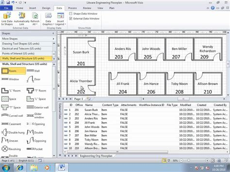 sharepoint 2010 visio services using visio services with a sharepoint server 2010 list