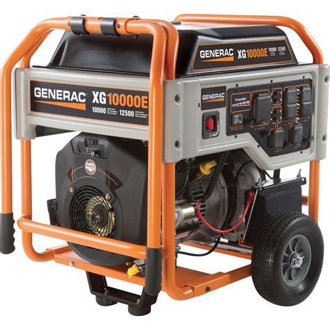 sunbelt honda free shipping generac xg10000e portable generator