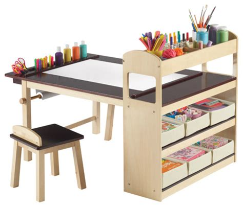 kid craft tables deluxe center modern tables and chairs