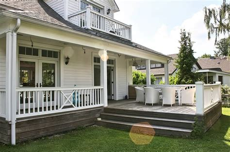 veranda mit balkon wohnideen interior design einrichtungsideen bilder