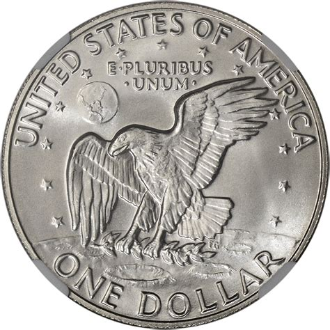 specifications eisenhower silver dollars 1974 s us eisenhower silver dollar 1 ngc ms68 ike label