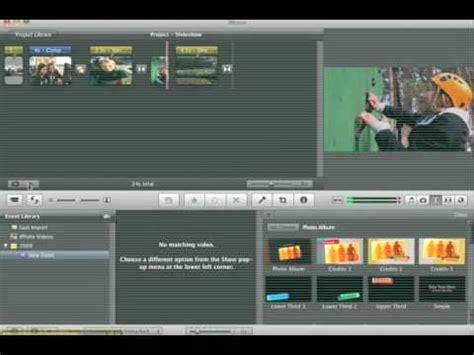 imovie tutorial for slideshow tutorial imovie slideshow youtube
