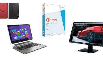 et deals: 13.3 inch hybrid laptop, dell venue 8, ms office