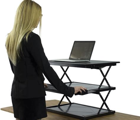 sit and stand desk converter adjustable stand up desk adjustable standing desk ikea