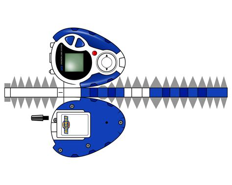 Digimon Digivice Papercraft - digivice d3 original by randyfivesix on deviantart