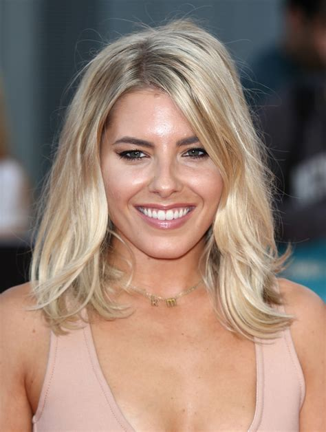 Mid Length Bob Hairstyles by Mollie King Mid Length Bob Shoulder Length Hairstyles