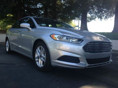 2014 ford fusion se 2 5 l automatic find used 2014 ford fusion se sedan 4 door 2 5l in el