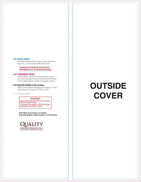 8 5 x 11 flyer template 8 5x11 brochure templates