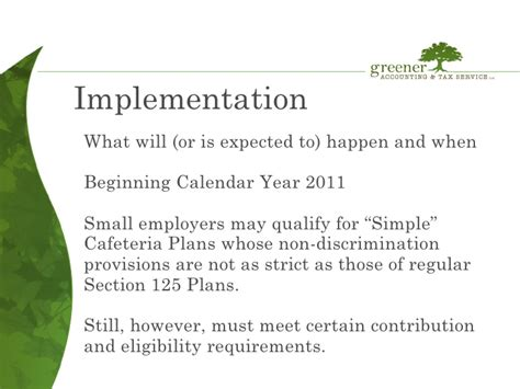 section 125 cafeteria plan hsa what is a section 125 cafeteria plan 28 images section