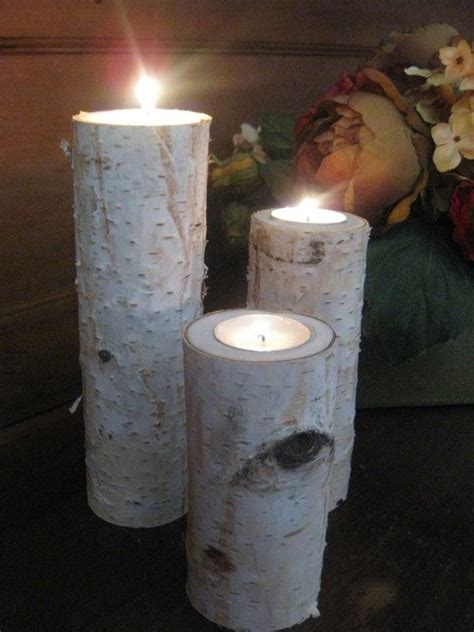7 best birch candle holders images on candle