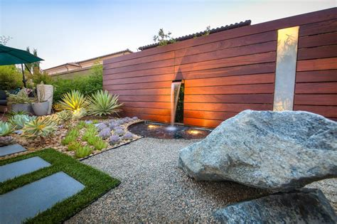 modern water feature outdoor spaces design guide hgtv