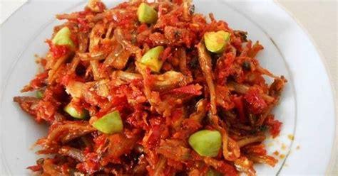 Sambal Dua Belibis Saus Cabe Ukuran 5kg sambal ikan teri pete 145 resep cookpad