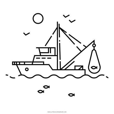 barcos para colorear en linea dibujo de barco pesquero para colorear ultra coloring pages