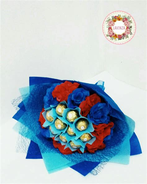 Pariiz Buket Coklat Jargiftvalentineulang Tahun jual buket bunga coklat ferrero chocolate ferrero flower bouquet lavinzashop