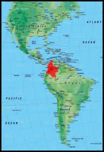 colombia map south america a small trip through where is colombia