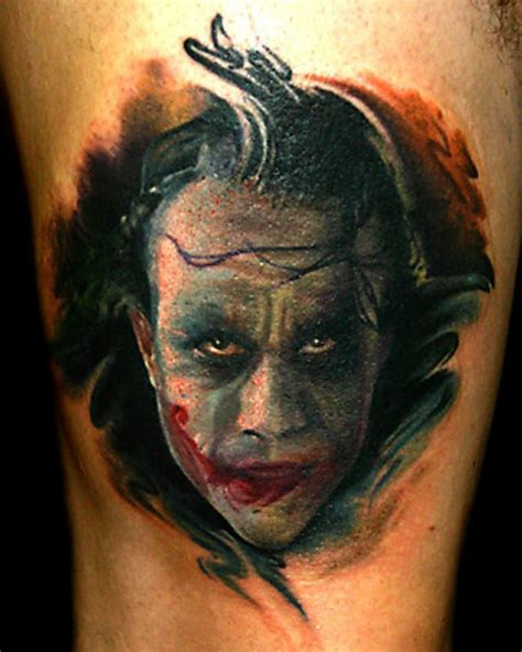 joker face tattoo designs 26 cool joker tattoos desiznworld