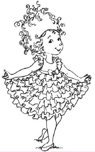 fancy nancy clip art bing images disney coloring pages