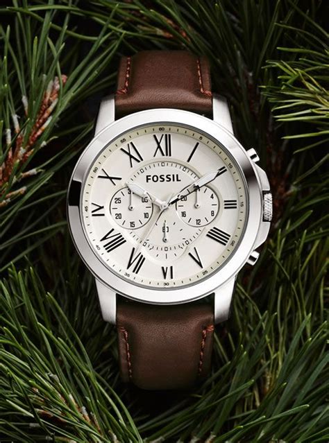 Jam Tangan Fossil Fs 4735 stainless steel watches for leather watches fossil