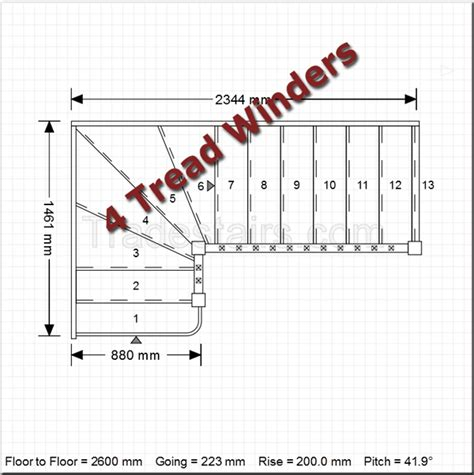online staircase design winder staircases online back to the top 4 tread plans