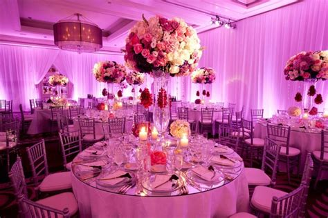 Carset 3 In Hug Flower Dress Hotpink floral themed southern california wedding inside weddings
