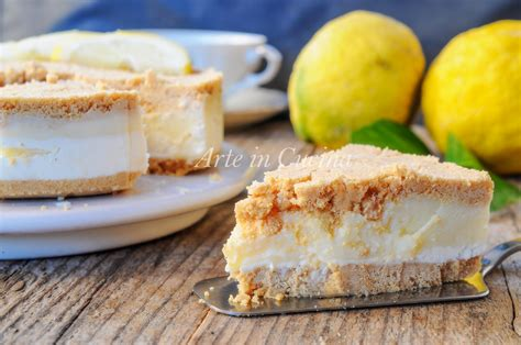 dolci alla ricotta arte in cucina torta di biscotti al limone e ricotta dolce veloce arte