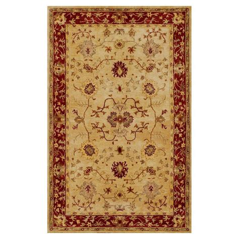 Rug 3 Ft by Kas Rugs Antiquity Tabriz Sand Rust 3 Ft 3 In X 5 Ft 3