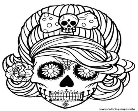 cute skull coloring page cute skull coloring pages grig3 org