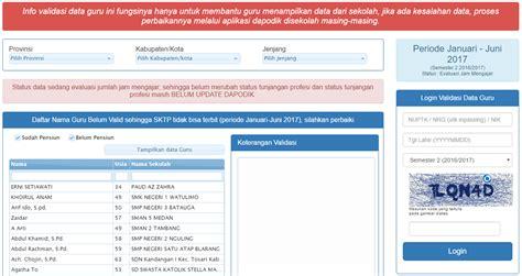 info gtk aplikasi info gtk 2017 tim dapodik