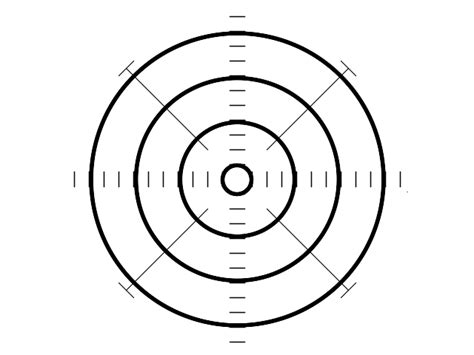 printable shooting target template bullseye targets printable clipart best