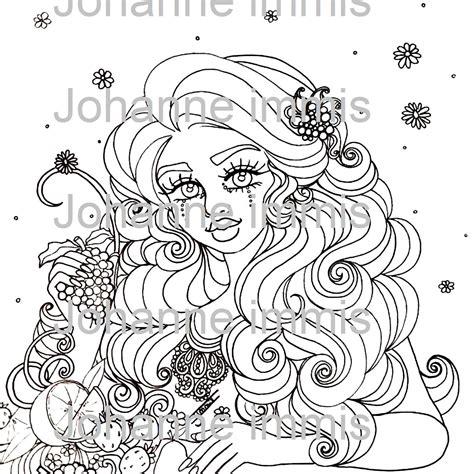 digital coloring aesthetic printable coloring page digital coloring page