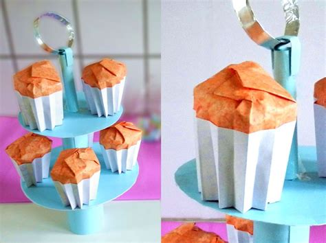 Origami Cupcake Box - joost langeveld origami page