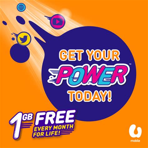 u mobile new year promotion u mobile new power prepaid plan promotion