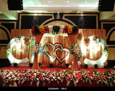 Reception decorations in hyderabad marriage