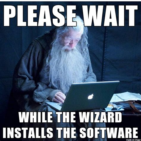 Sap Meme - meme watch tech support gandalf is the only installation