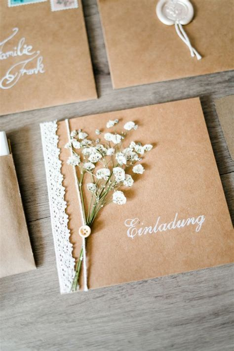 Hochzeitseinladung Diy by Ein Katalog Unendlich Vieler Ideen