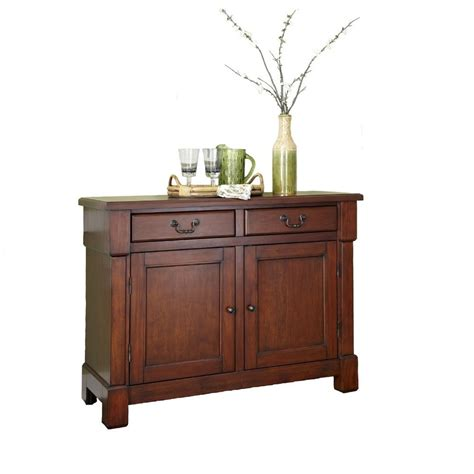 Aspen Buffet In Rustic Cherry The Aspen Collection Buffet Homestyles
