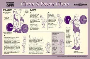 how to clean and how to power clean your lifts