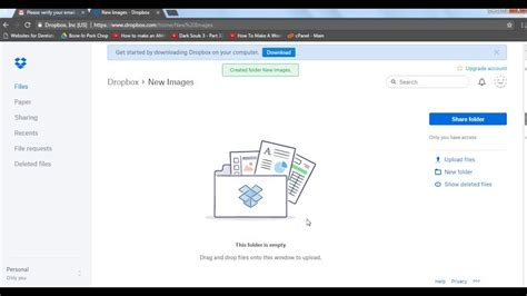 dropbox quit shared folder getting started with dropbox 2017 set up dropbox create