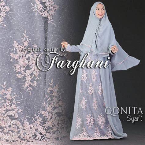 Gamis Murah Qonita Dress farghani jual busana muslim