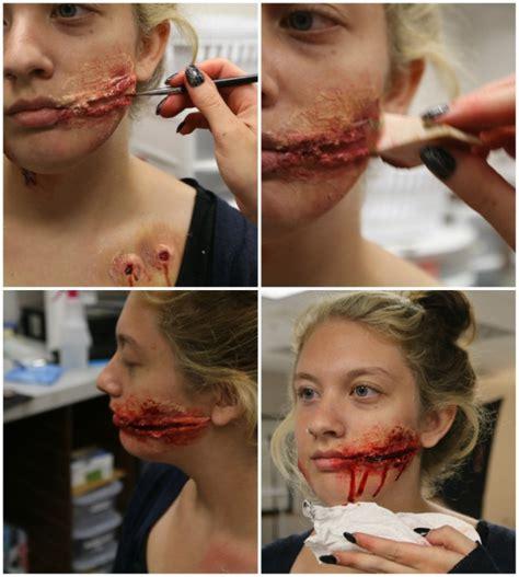 zombie bite tutorial easy 3 diy halloween makeup effects infected zombie bite