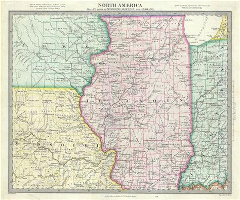 map missouri and illinois illinois missouri map