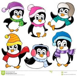 cute penguins collection stock photos image 27688883