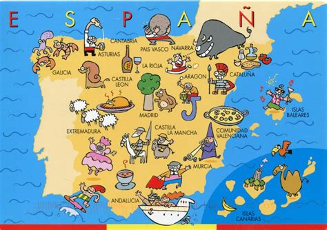 best maps the best map of spain spain traveller
