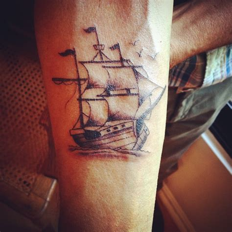 small nautical tattoos pirate ship tattoos designs ideas and meaning tattoos