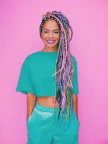 colorful braiding hair 60 totally chic and colorful box braids hairstyles to wear
