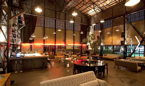 modern warehouse interior design spacious rustic warehouse industrial cafe interior concept